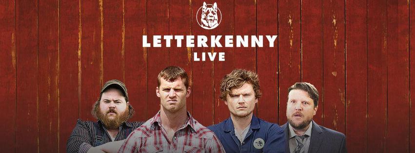 Letterkenny Live Tour 2018
